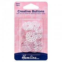 Creative Buttons: 22mm:...