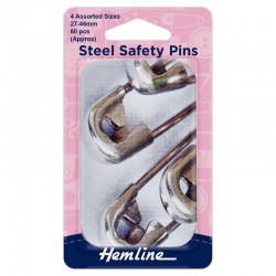 Safety Pins in Tin:...