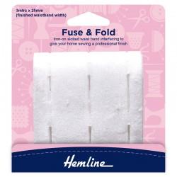 Fuse and Fold Waistband...