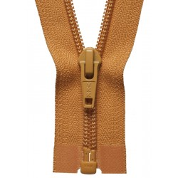 25cm Open End Zip: Gold By...