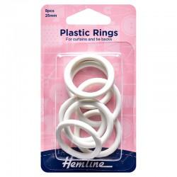 Plastic Curtain Rings:...