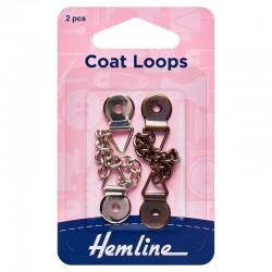 Metal Coat Loops:...