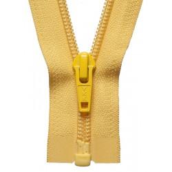 30cm Open End Zip: Yellow...