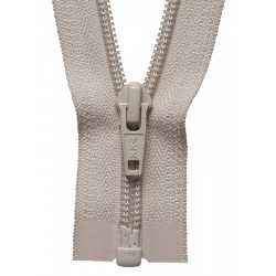 30cm Open End Zip: Beige By...