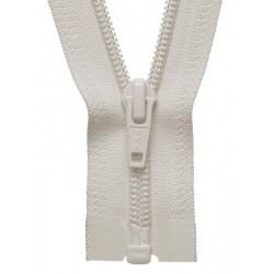 30cm Open End Zip: Ivory By...