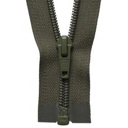 30cm Open End Zip: Khaki By...